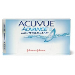 Контактные линзы Acuvue Advance with Hydraclear